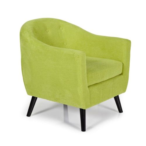 Ocassional Evie Green Occasional Chair